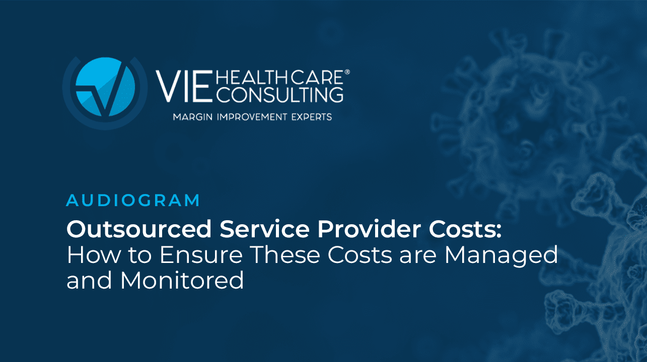 Outsourced Service Provider Costs: How to Ensure These Costs Are Managed and Monitored