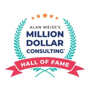 Alan Weiss Million Dollar Consulting Hall of Fame Presented to Lisa Miller of VIE Healthcare